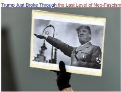 Trump Đã Vượt Giới Hạn Cuối Cùng Của Chủ Nghĩa Tân Phát Xít